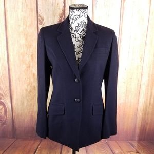 Jones New York Black 1-Button Blazer B112